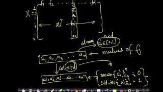 Data preprocessing: Column standardization-Dimensionality reduction Lecture 7@