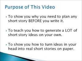 【英语应试写作】如何在较短时间内写好一个story