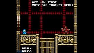 Mega Man Unlimited] Whirlpool Man Stage [VRC6 FamiTracker