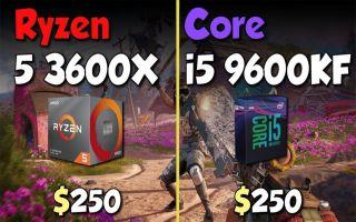Core i3 9350KF 对比i5 9400F vs Ryzen 5 2600x 在9个游戏中的表现电影