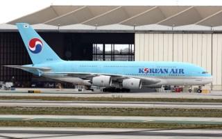 大韩航空KE907 首尔仁川-伦敦希思罗 空客A380经济舱体验(金属餐具好评)