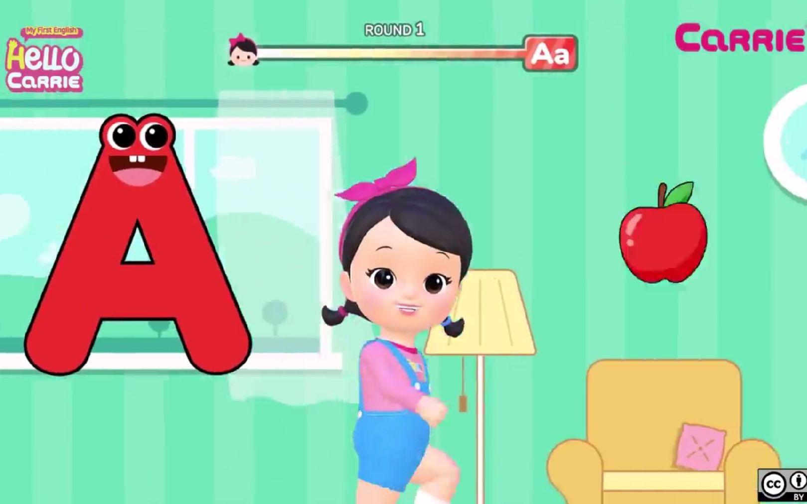 Super Fun Phonics A to Z - Alphabet song 英文字母 A-Z 英語兒童少兒早教英語啟蒙教育_嗶哩嗶哩 (゜-゜)つロ 干杯~-bilibili