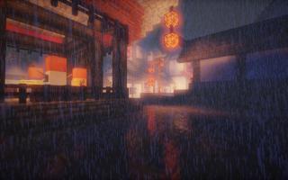 雨景- MC我的世界光影及原声带欣赏 02
