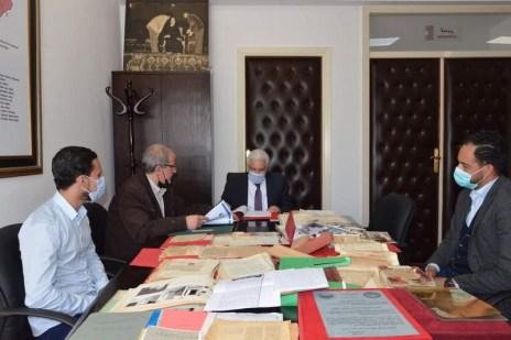 """archives-mokhtar-soussi """"أرشيف المغرب"""" يستقبل مئات الوثائق من ذخائر العلامة المختار السوسي أدب و فنون"""