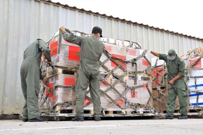 الملك يأمر بإرسال مساعدات إنسانية عاجلة إلى فلسطينيي الضفة وغزة