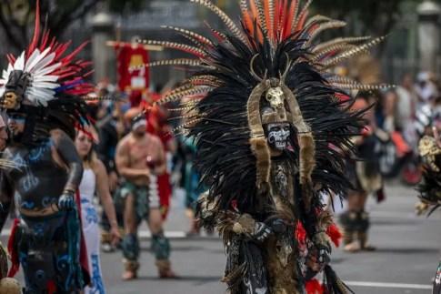 mexique-empire-azteque سكان المكسيك الأصليون يحيون اليوم الأخير من إمبراطورية الأزتيك أدب و فنون الجمعية