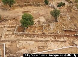 Sky View / Israel Antiquities Authority