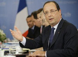 French President Francois Hollande (AP Photo/Pablo Martinez Monsivais)