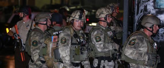 FERGUSON MISSOURI POLICE RIOT                       Anadolu Agency via Getty Image