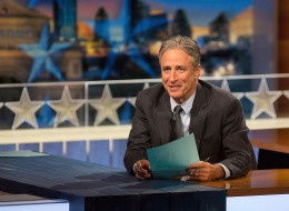 AUSTIN, TX - OCTOBER 28:  Host Jon Stewart at 'The Daily Show with Jon Stewart' covers the Midterm elections in Austin with 'Democalypse 2014: South By South Mess' at ZACH Theatre on October 28, 2014 in Austin, Texas.  (Photo by Rick Kern/Getty Images for Comedy Central)