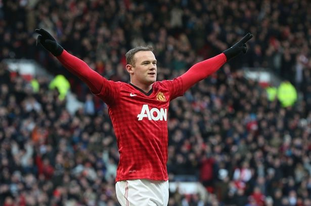 Machester United's Wayne Rooney