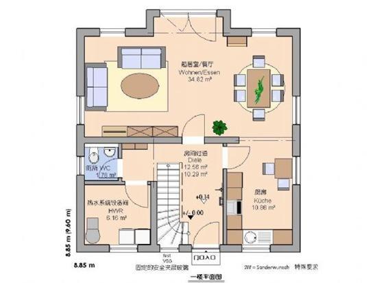 德國小住宅平面圖設計 - 每日頭條