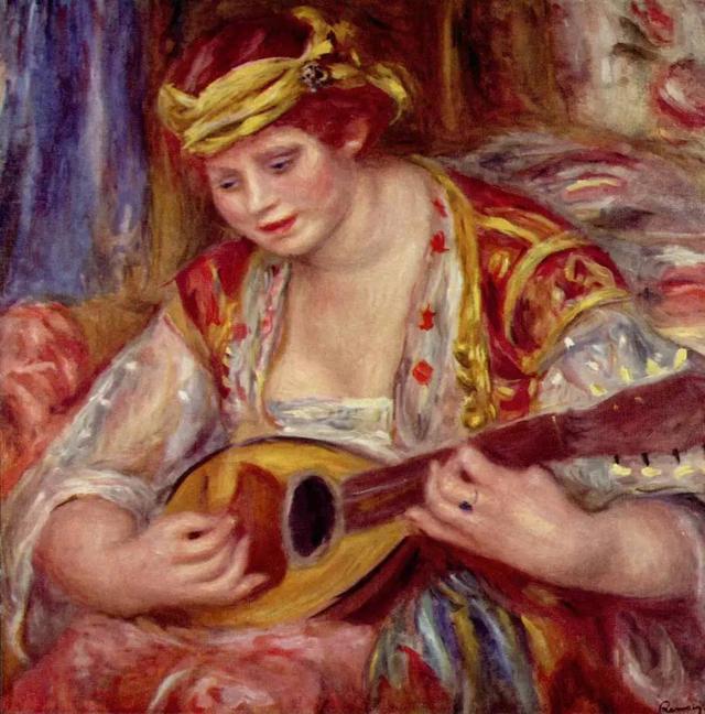 法國印象派畫家皮埃爾·奧古斯特·雷諾瓦油畫作品 - 每日頭條