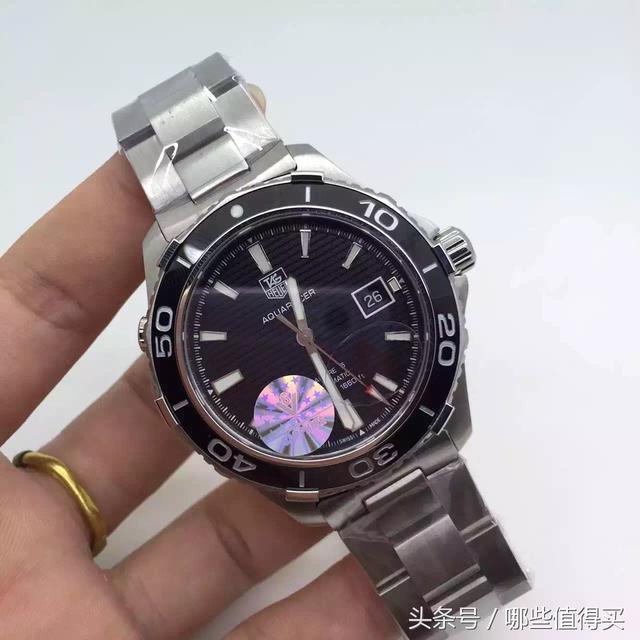 泰格豪雅Aquaracer500M專業潛水腕錶 - 每日頭條