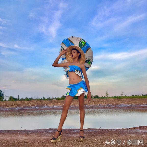 泰國鄉村網紅Gigi Juno之麻袋和化肥口袋時尚系列! - 每日頭條