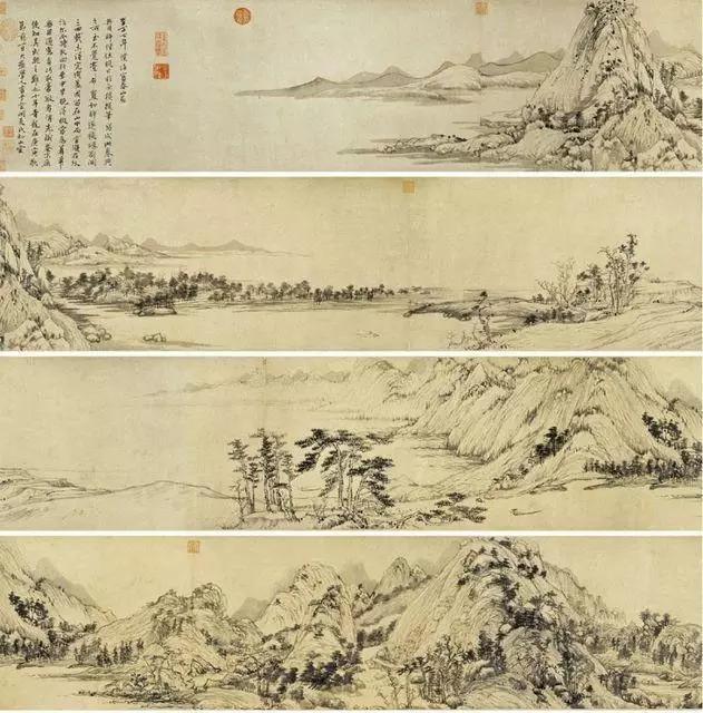 山水畫作第一神品--《富春山居圖》賞析 - 每日頭條