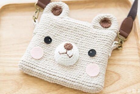 鉤針編織包包-可愛小熊包袋 - 每日頭條