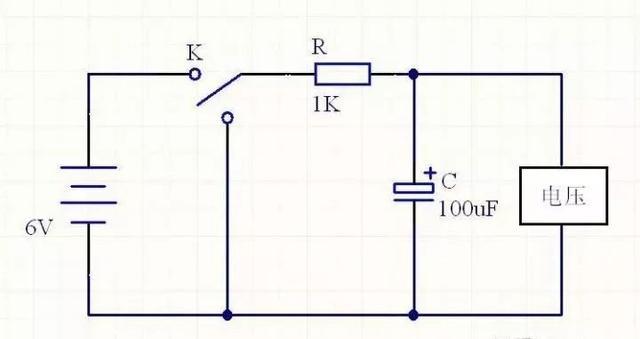 電容充放電時間計算方法!!! - 每日頭條