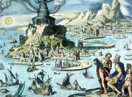 世界古代七大奇蹟到底是啥樣子?為何不包括中國長城呢? - 每日頭條