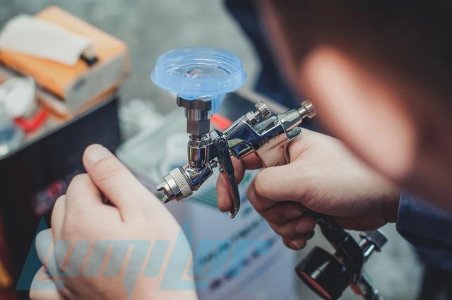 lumilor電致發光塗料——pete 噴塗現場教學指導 - 每日頭條