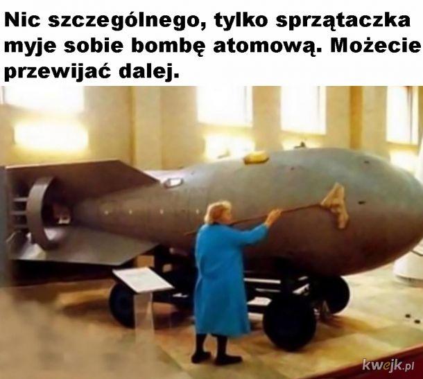 Bomba atomowa - Najlepsze memy, zdjęcia, gify i obrazki - KWEJK.pl