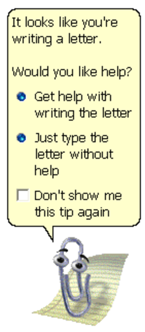 Image 24029 Clippy Know Your Meme