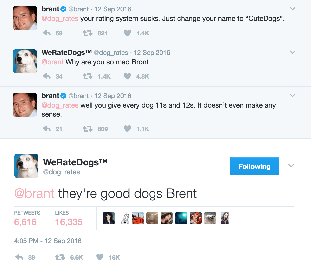 They Re Good Dogs Exchange