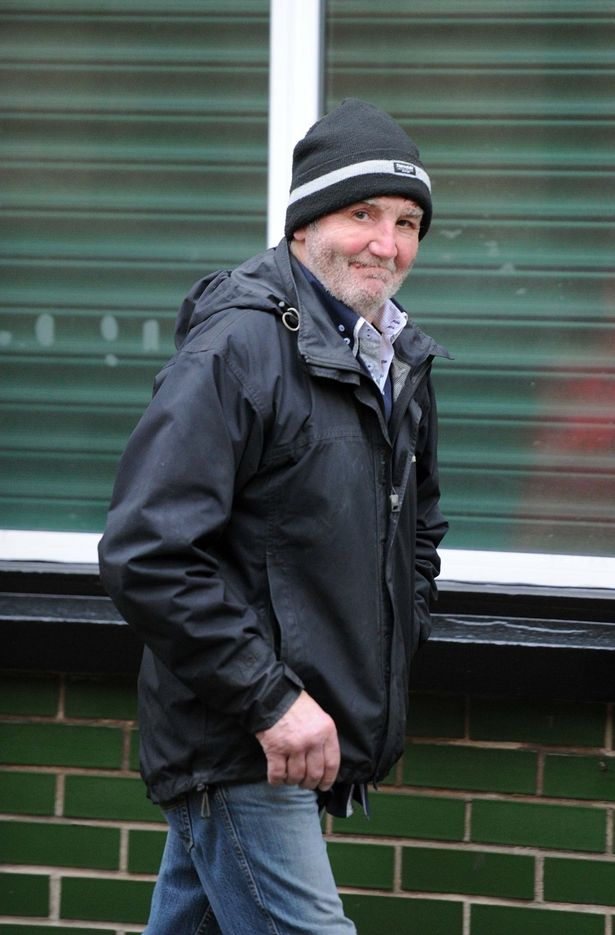 Ronald Guy outside Birkenhead Magistrates Court