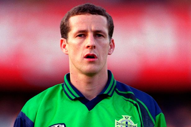 Liverpool's chief scout Barry Hunter back in his playing days with Northern Ireland Credit:Action Images / Nick Potts