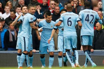 Barclays Premier League Manchester City v Aston Villa