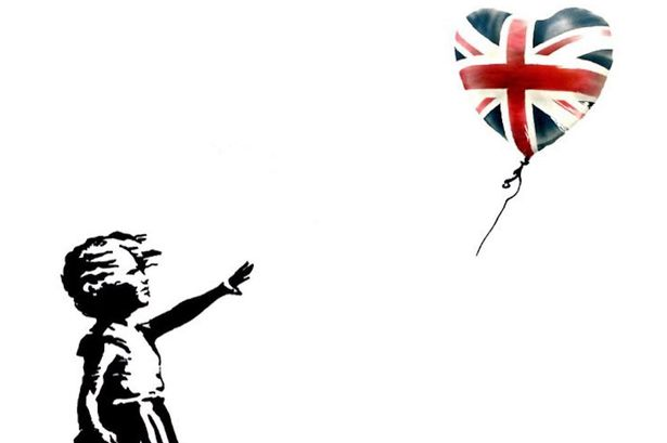 Banksy free print for anti-Tory voters