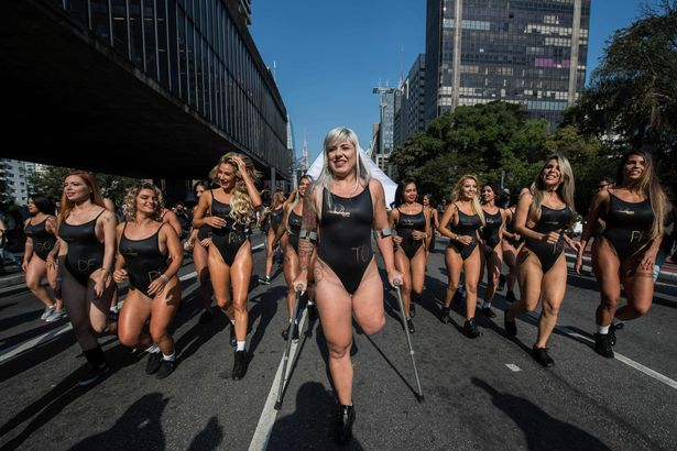 """Rubia said competing in Miss Bumbum is a """"dream come true"""" (Image: AFP)"""