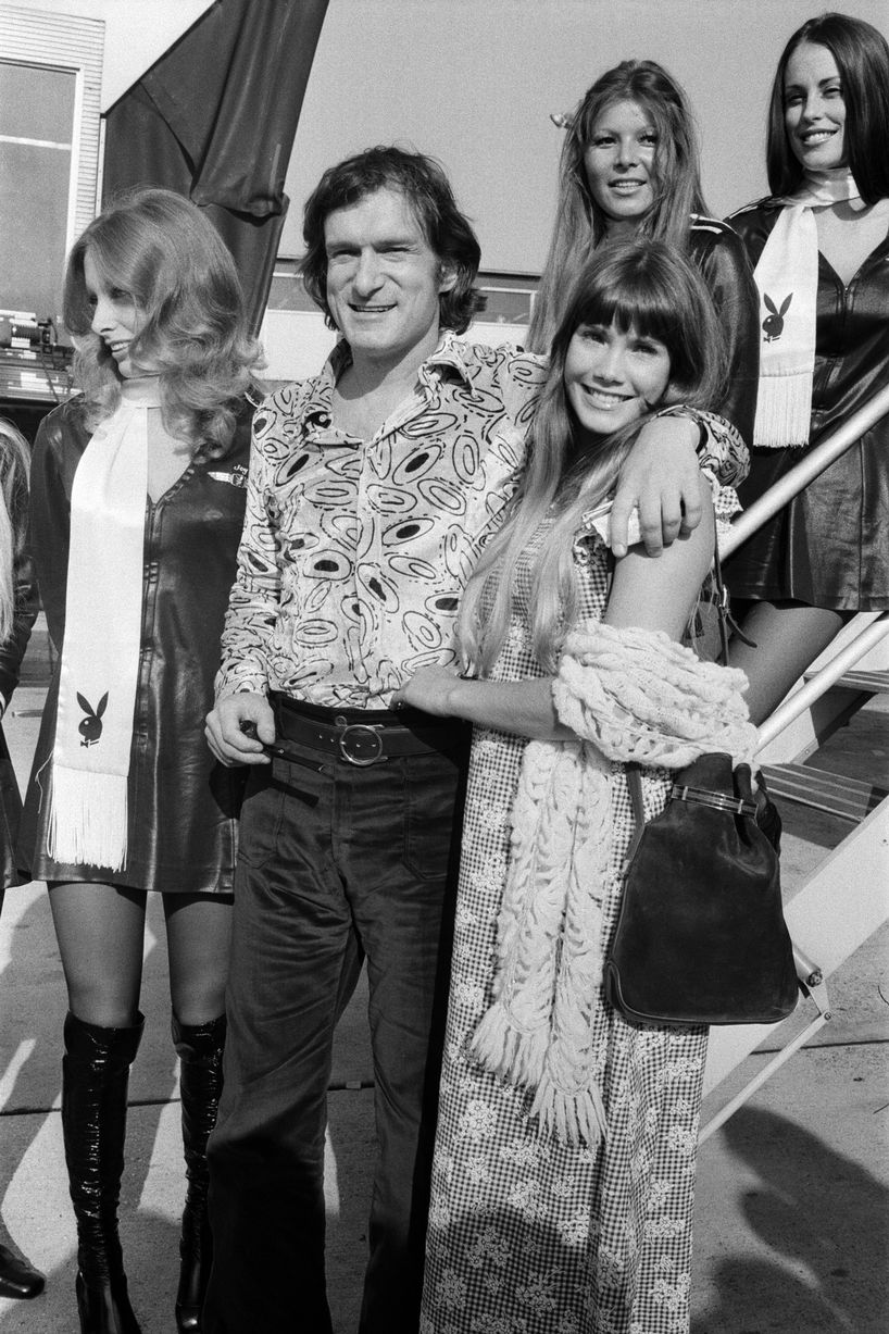Everette hatcher iii the daily hatch page 10 26th september 1972 hef barbi and the girls disembark the big bunnylong before the internet made nudity ubiquitous hefner faced obscenity charges in fandeluxe Gallery