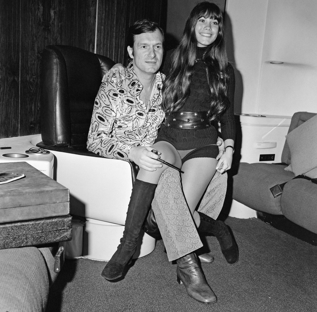 Everette hatcher iii the daily hatch page 10 20th february 1971 hef and barbi on his private jethefner settled down somewhat in 2012 at age 86 when he took crystal harris who was 60 years younger fandeluxe Gallery
