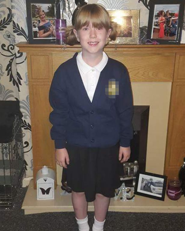 """""""Watching Tegan going to school on her first day [as a girl] was very emotional,"""" said proud mum, Michelle"""