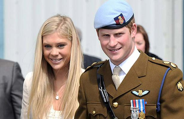 Prince Harry and Chelsy Davy (pic: Rex)