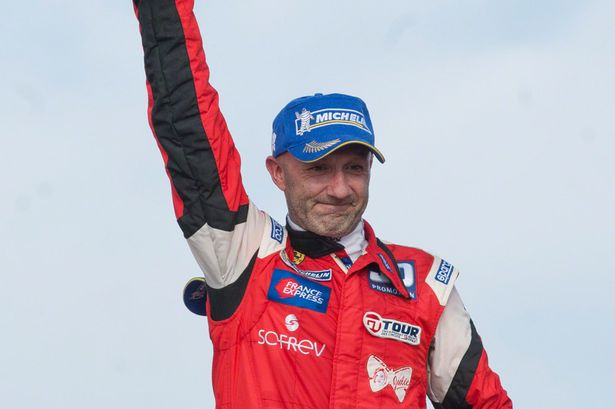 Former Manchester United stopper Fabien Barthez is crowned the new France GT Champion 2013