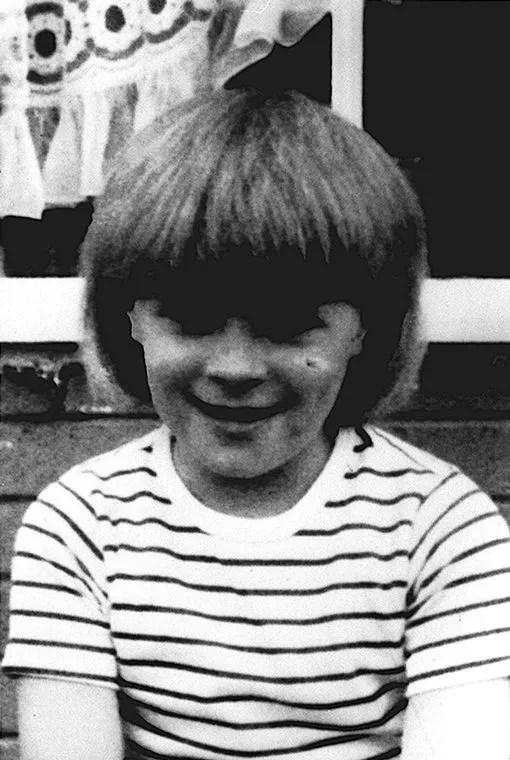 Ten year old Sarah Harper