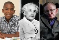 Ramarni Wilfred, Albert Einstein and Stephen Hawking
