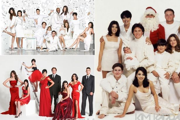 After The Release Of The Kardashians Christmas Card For