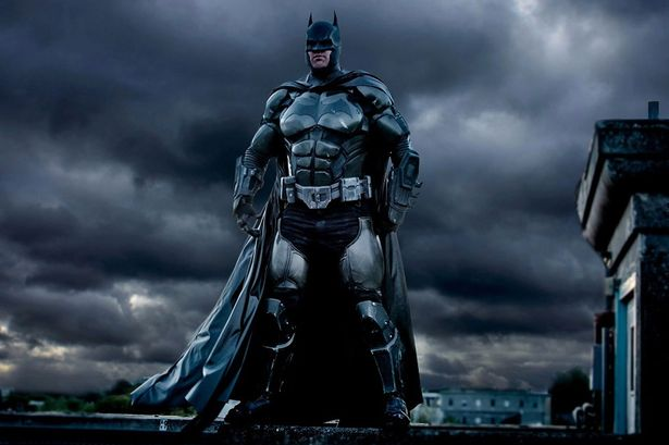 Amazing 3D-printed Batsuit in action