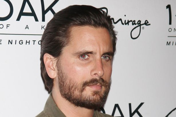 Reality star Scott Disick hosts the night at 1 OAK Nightclub at the Mirage Hotel and Casino in Las Vegas