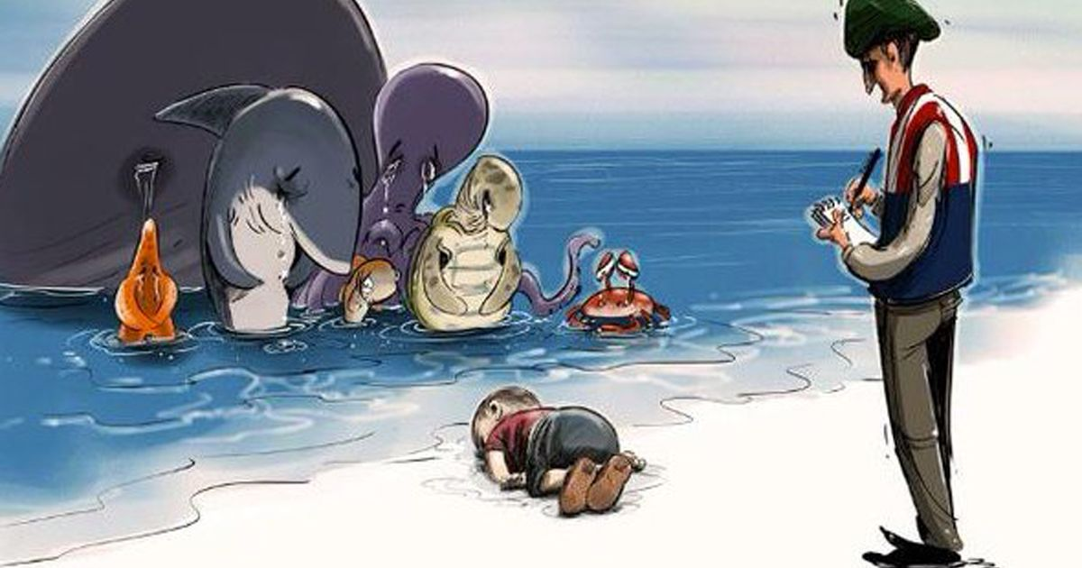 Image result for syrian child  art