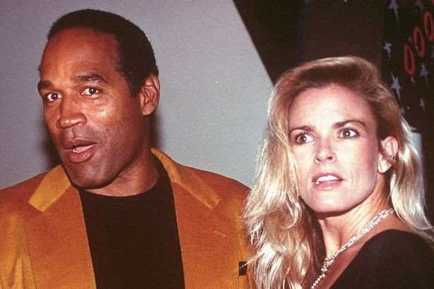 OJ Simpson and wife and murder victim Nicole Brown Simpson