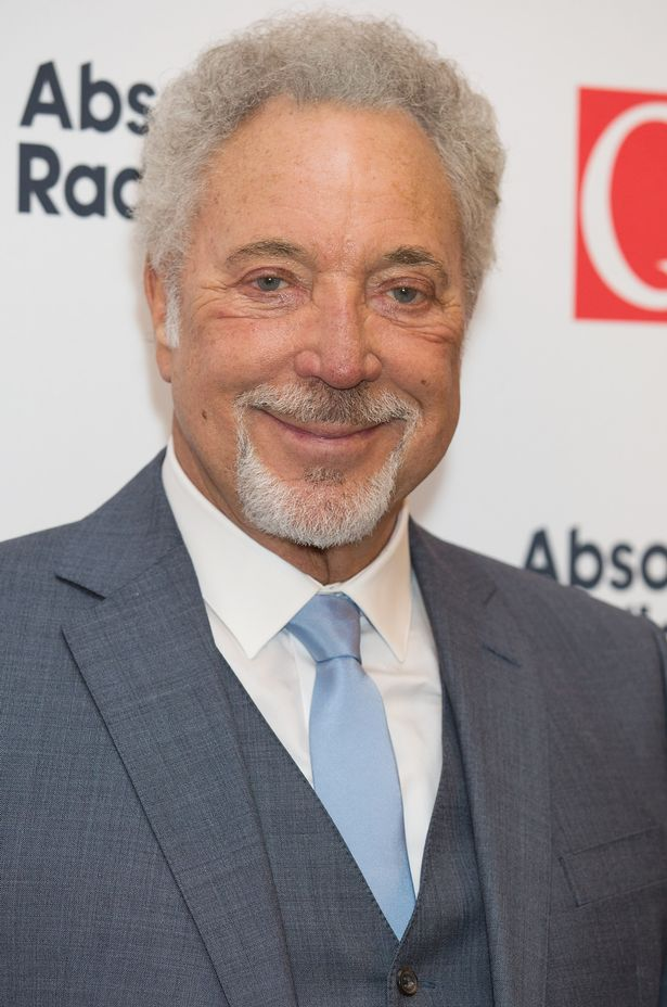 Tom Jones at the Q Awards 2015 at The Grosvenor House Hotel on October 19, 2015 in London, England