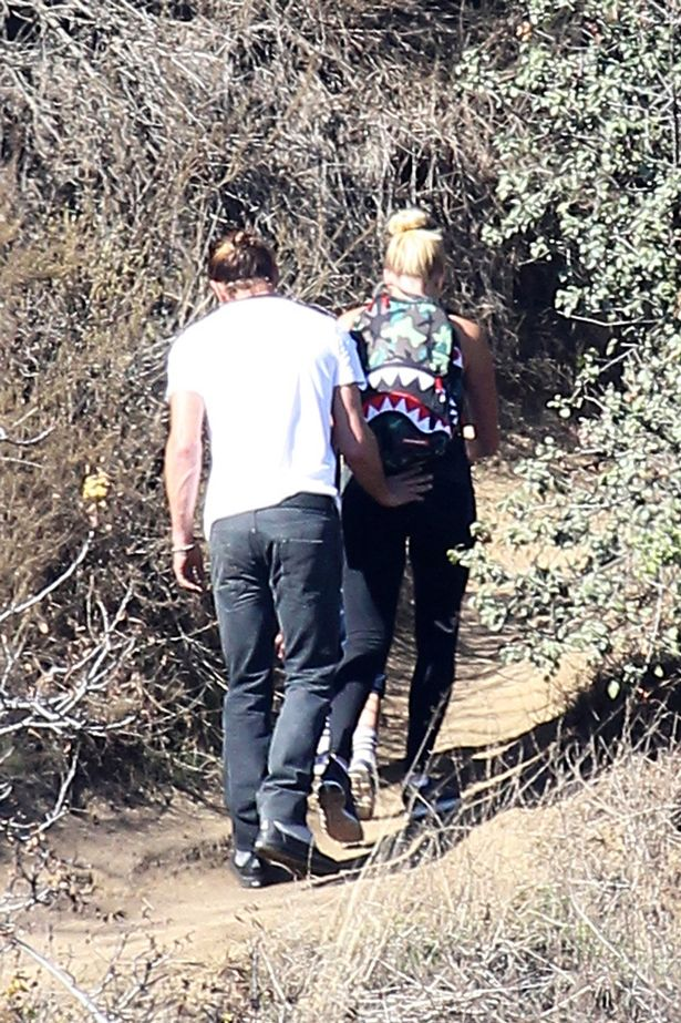 Gavin Rossdale gets intimate with nanny Mindy during hike