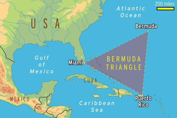 "Image result for Strange hexagonal clouds spotted over the Bermuda Triangle called as ""air bombs"""