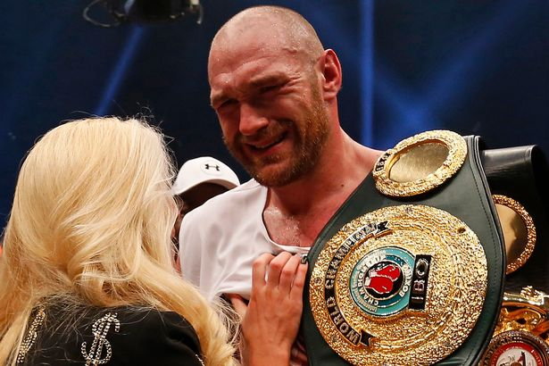 Image result for BBBC set to strip Tyson Fury of boxing licence