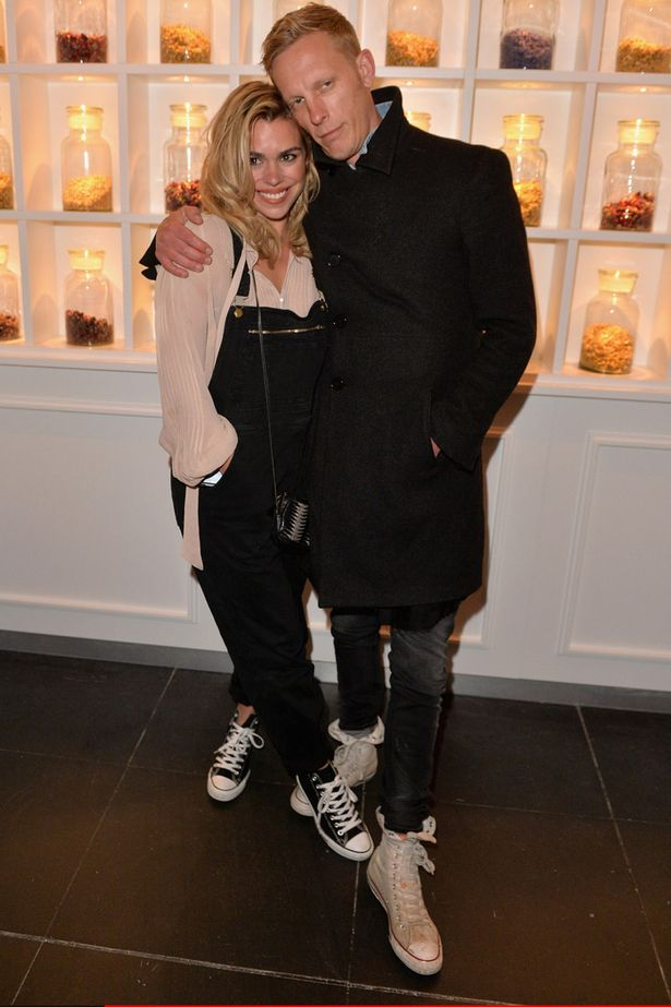 Billie Piper and Laurence Fox in 2006