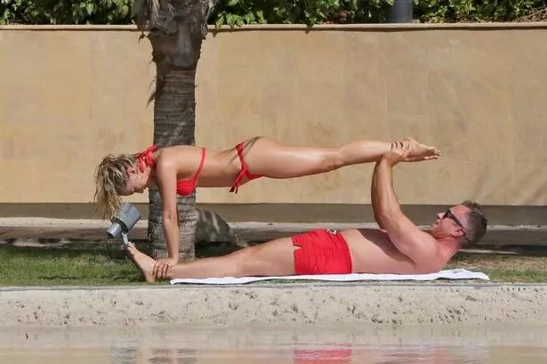 PAY-PROD-Ola-Jordan-and-James-Jordan 18+: Ola Jordan shows off her flexibility in new photo shoot
